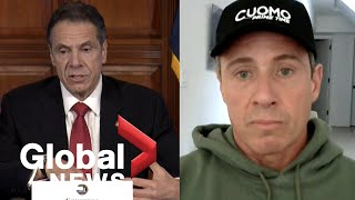 Coronavirus outbreak: NY Governor interviews brother, CNN's Chris Cuomo, about COVID-19 diagnosis