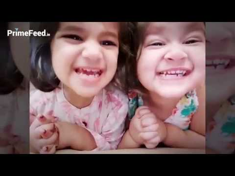 Karanvir Bohra Daughters Bella And Vienna New Videos 2019