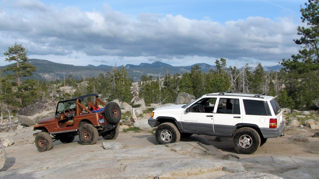 Jeep Grand Cherokee Zj Rubicon Trail True Story Cj7