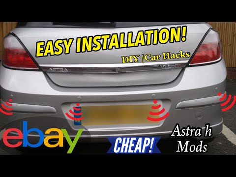 How To Install Cheap Parking Sensors * Easy Car Mods*