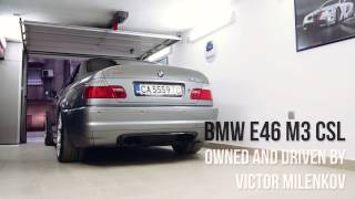 BMW e46 M3 CSL The One and only
