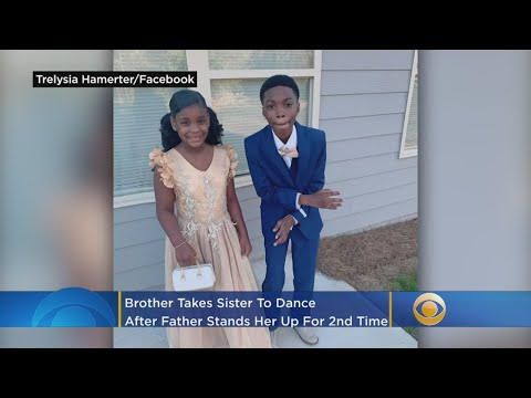 Big Brother Takes Little Sister To Dad-Daughter Dance After Father Stands Her Up For Second Time from YouTube · Duration:  36 seconds
