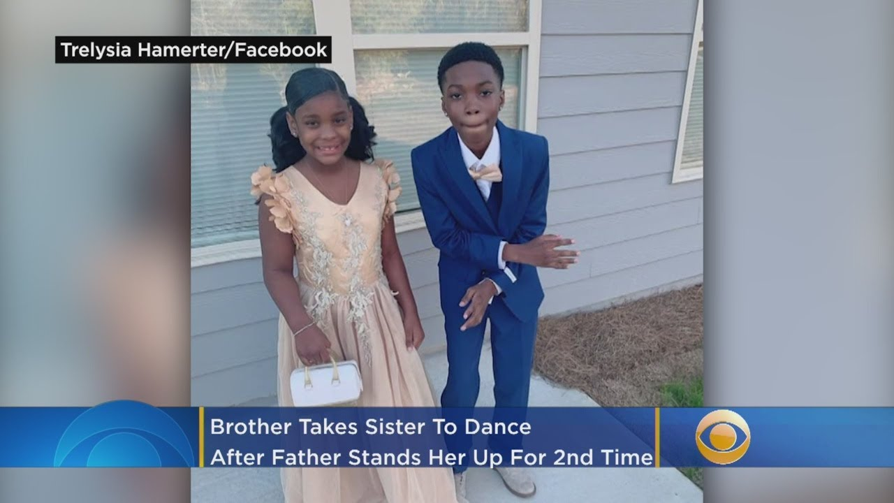 Big Brother Takes Little Sister To Dad-Daughter Dance After Father Stands Her Up For Second Time