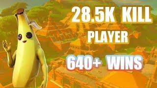 *FORTNITE* 28.5K K| LL PLAYER/640+ WINS (FBR) (GIVEAWAY @2.5K)
