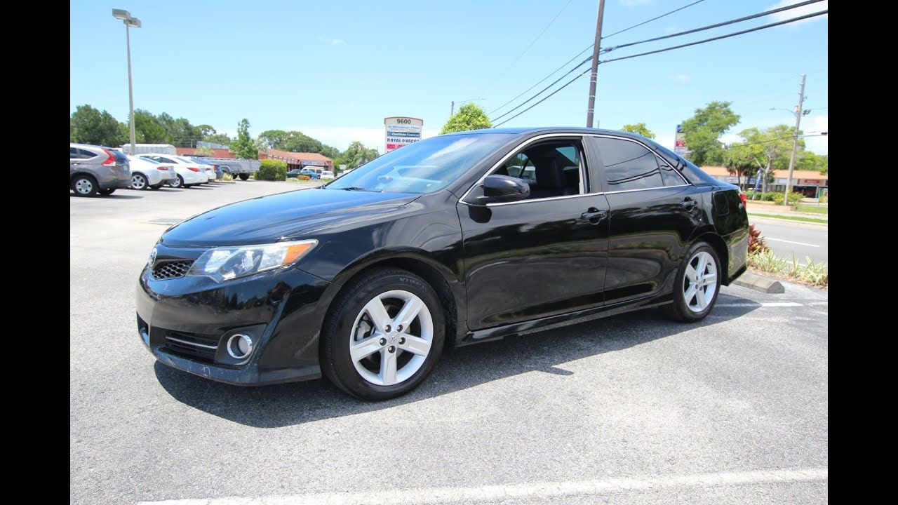 2013 Toyota Camry For Sale >> Sold 2013 Toyota Camry Se Vvti Meticulous Motors Inc Florida For Sale