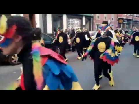 El espíritu del carnaval inunda las calles de Sarria