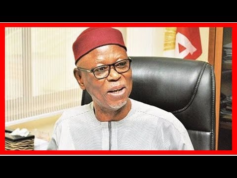 Breaking News | Oyegun storms National Assembly, meets APC Senators