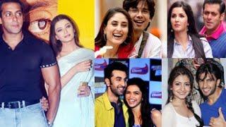 Bollywood Actresses & Their Love Affairs Before Marriage | Aishwarya, Deepika, Katrina, Anushka