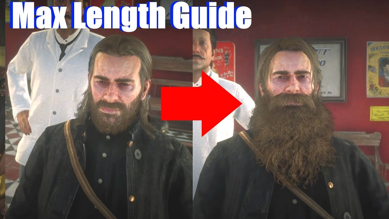 Hair Style Rdr2: How To Grow Beard To 10 / Max