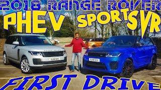 2018 Range Rover PHEV and Sport SVR