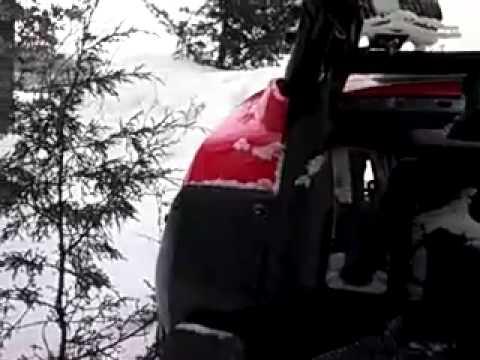 Honda Pioneer deep snow and stall testing.