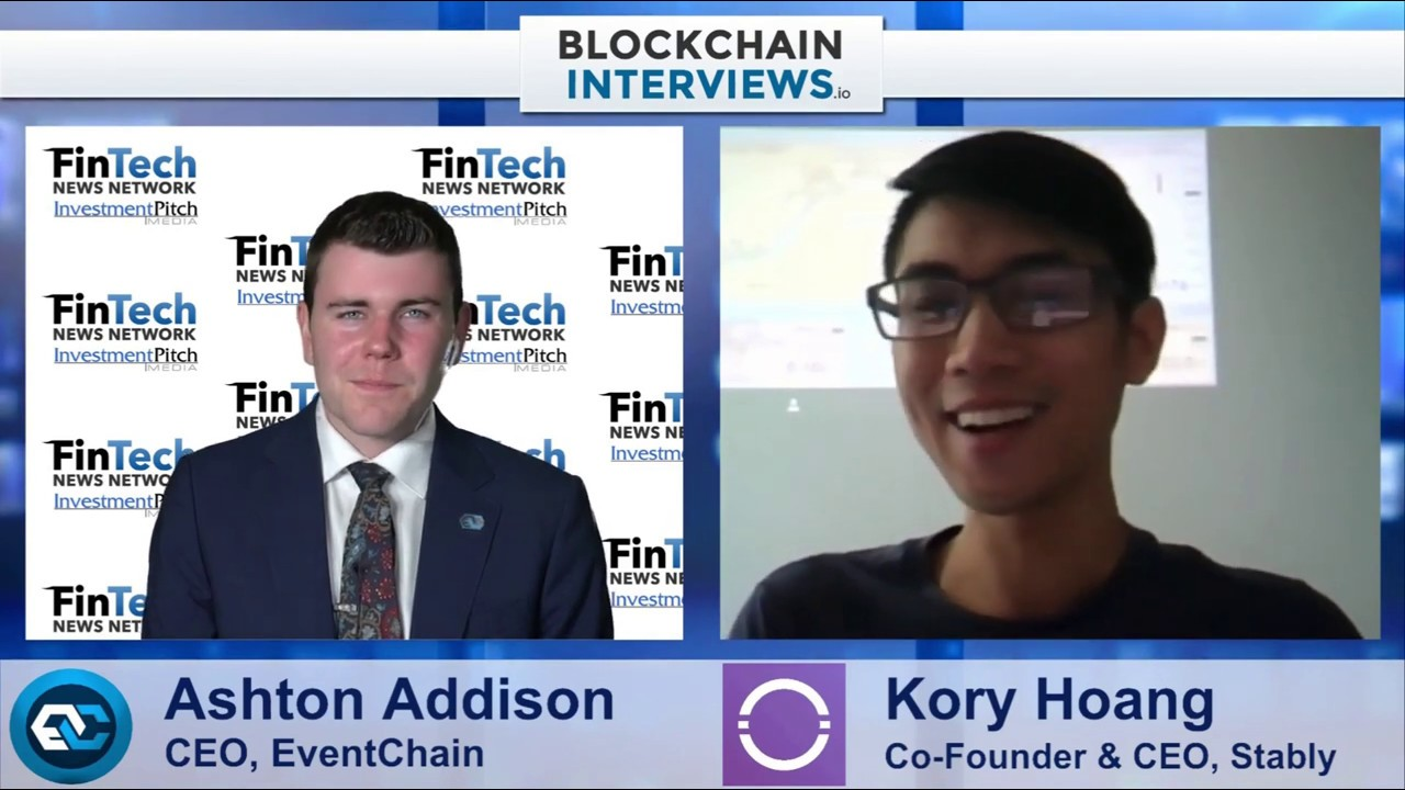 Blockchain Interviews - Kory Hoang, Co-Founder & CEO of Stably