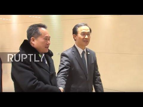 South Korea: North Korean delegation returns to Pyongyang from Seoul
