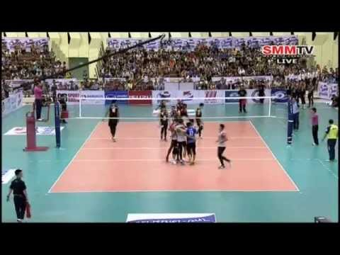 ชลบุรี อีเทคฯ VS นครราชสีมา [รอบชิงชนะเลิศ] Super League 12-05-2014