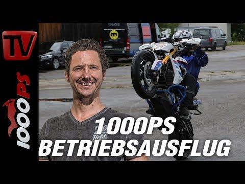 1000PS Betriebsausflug  - Wheeie fahren lernen. Motorrad Wheelieschule von Dirk Manderbach