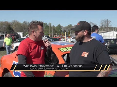 Hanging With Hollywood & Tim O'sheehan at Susquehanna Speedway