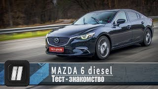 Mazda 6 DIESEL 2017.