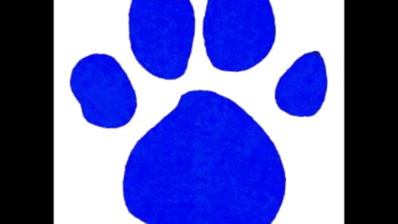 Blues Clues pawprint cymbol sound - YouTube