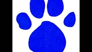 Blues Clues pawprint cymbol sound