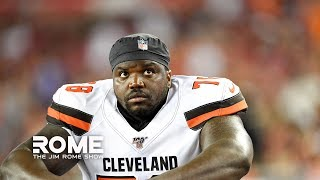 Greg Robinson ARRESTED For Possessing 157 lbs of Marijuana | The Jim Rome Show