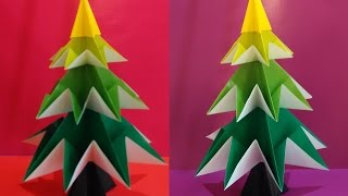 Awesome Christmas Tree. Origami - Easy!
