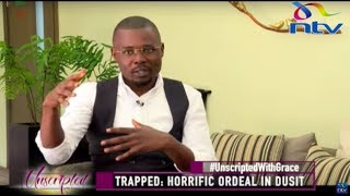 Happy to be alive: Silas Apollo's horrific ordeal at Dusit attack || Unscripted With Grace