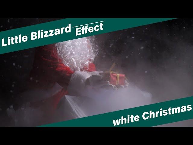 【サンタクロース】プレゼントを渡す演出を幻想的に引き立てる【リトルブリザード】