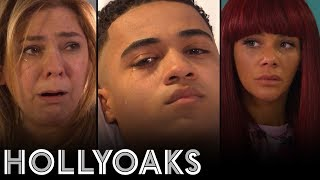 Hollyoaks: Hunter speaks up
