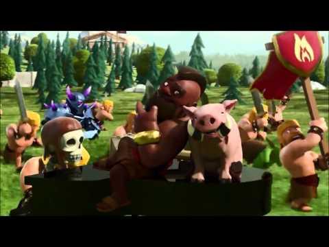 Clashof Clans Clan Wars Trailer