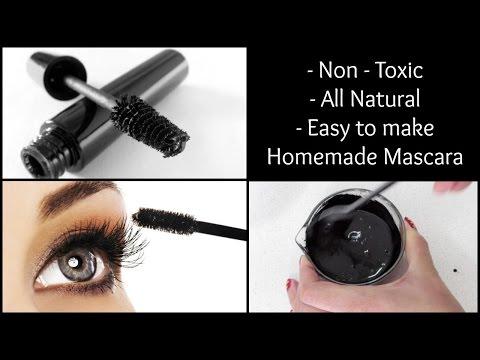Homemade Mascara | Non toxic, all natural & easy to make