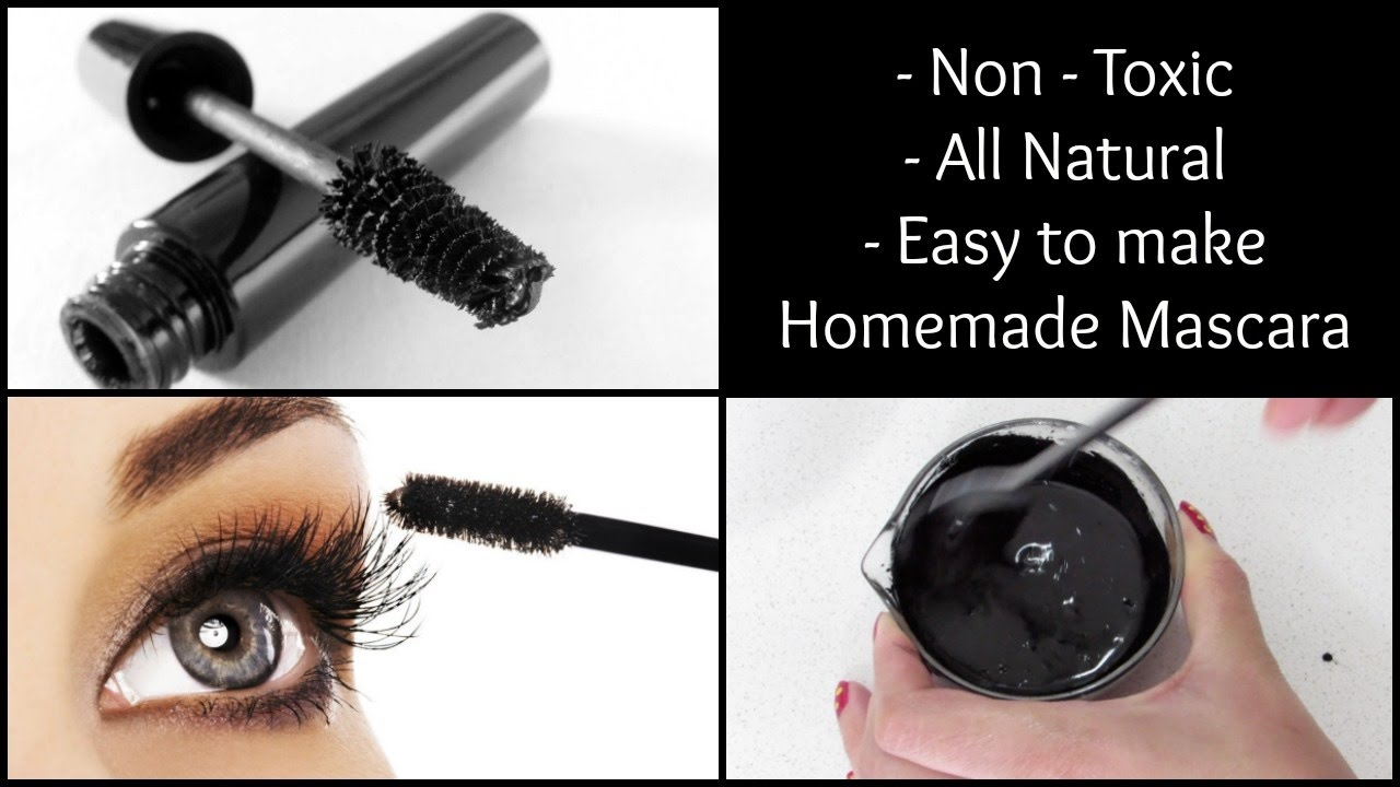 Homemade Mascara | Non toxic, all natural & easy to make