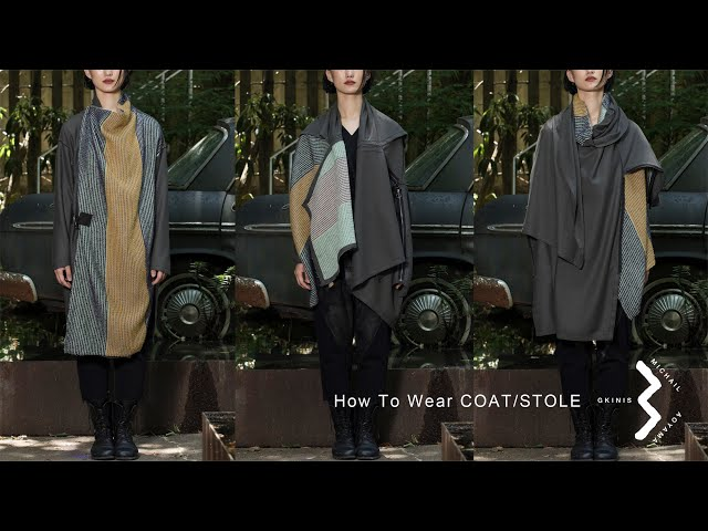 How to Wear COAT/STOLE [登録意匠]