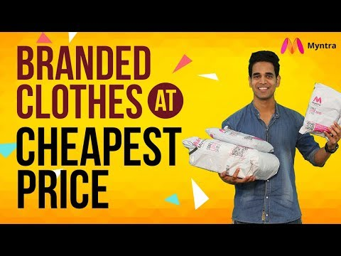 Myntra Online Shopping: Get Branded Clothes At Cheap Price | Myntra Online Shopping Offers