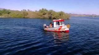 Mini tugboat by Berkeley Engineering