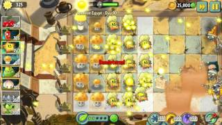Plants Vs Zombies Starfruit Play Event Ancient Egypt 11/07/2015