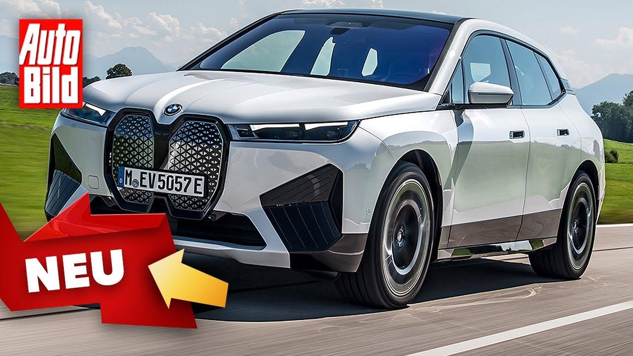 BMW iX (2021) |So fährt BMWs Elektro-Flaggschiff |Vorstellung & erste Fahrt