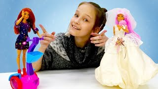 Барби и Кейт в магазине. Игры одевалки: видео для девочек