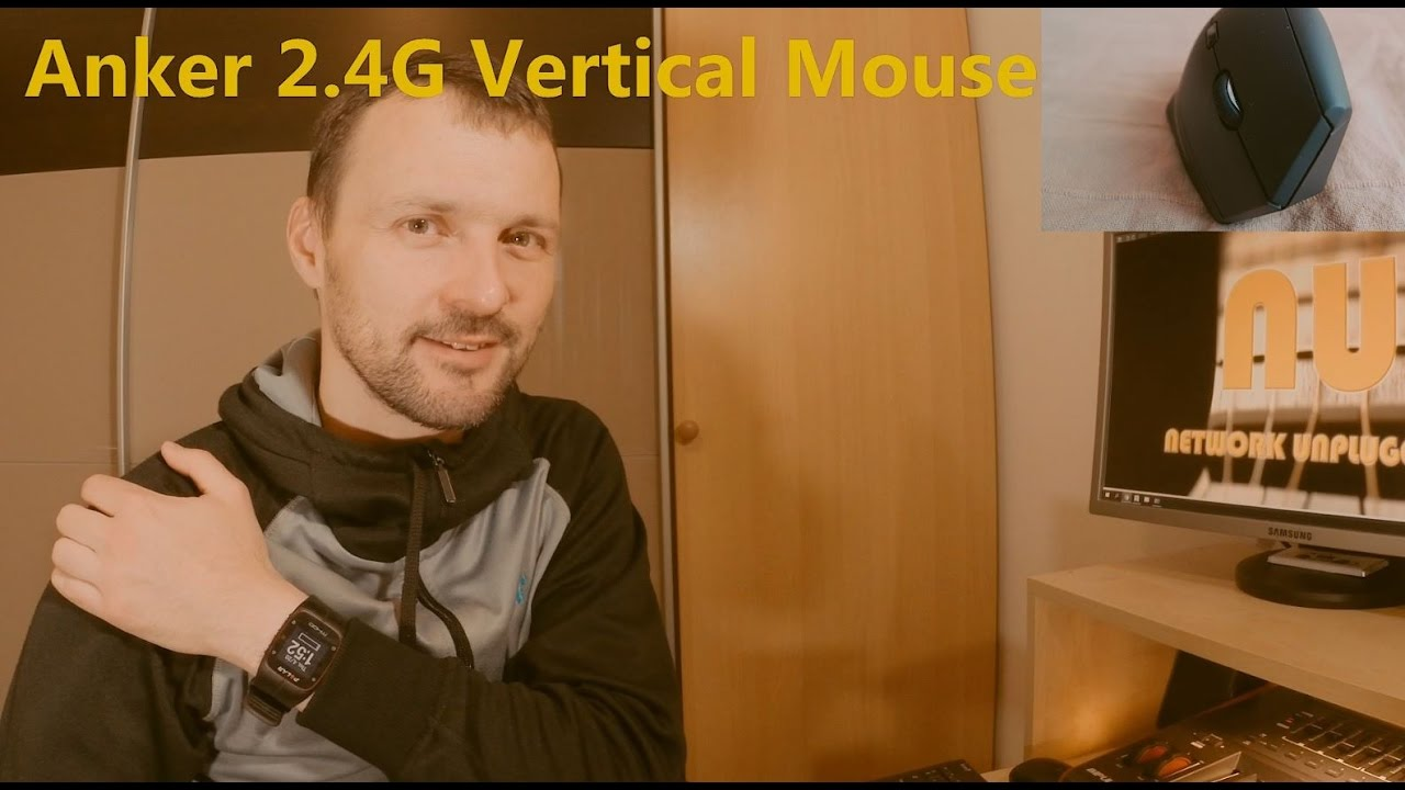 Anker Ergonomic Wireless Vertical Mouse Review