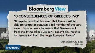 El-Erian: EU Should Ensure Grexit Doesn't Lead to EU Exit