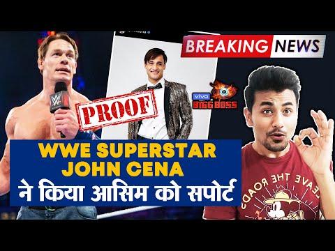 Bigg Boss 13 | WWE Superstar John Cena SUPPORTING Asim Riaz