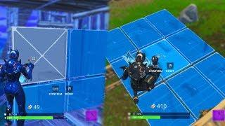 Fortnite I Used Walls as Floors & Floors as Walls! (BUG,Glitch)