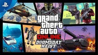 GTA Online - The Doomsday Heist Trailer | PS4
