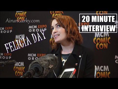 Felicia Day MCM London Comic Con 2015 Interview HD