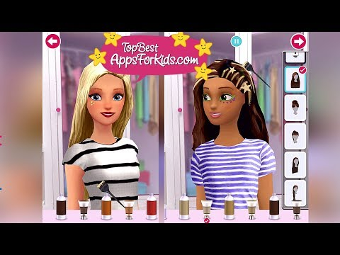 NEW Barbie Fashion Closet Game App 🎀 Android iPad iPhone