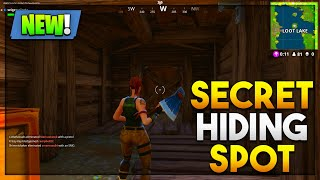 BRAND NEW SECRET SPOT butin lac cachette (Fortnite Battle Royale)