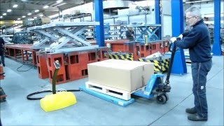 Low Profile U shaped Platform Lift Table - Model A8-U(The U shaped platform is used to safely load and unload a pallet onto the table using a hand pallet truck or a pedestrian truck without the need for an access ..., 2016-03-16T13:54:25.000Z)