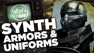 Mod of the Week: Synth Armors and Uniforms - Fallout 4 Show