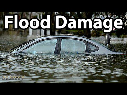 Checking A Used Car For Flood Damage