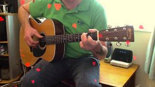Love Is all Around. Fingerstyle Guitar Cover.