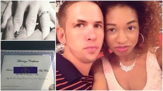 WE GOT OUR MARRIAGE LICENSE | Interracial couple | Mez Big Journey To Love